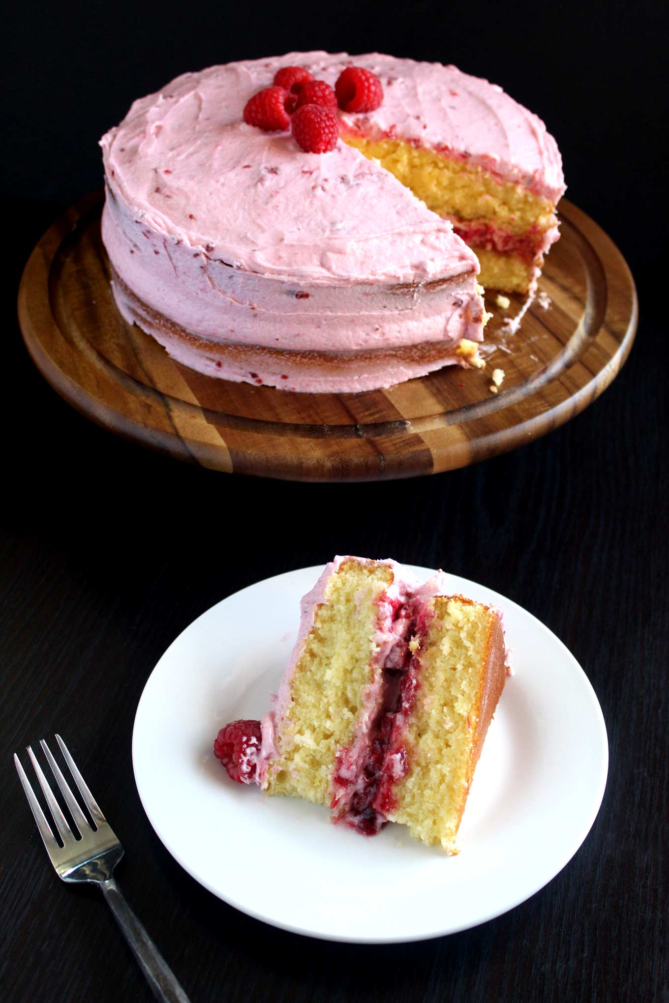 lemon raspberry cake lemon raspberry cake with raspberry buttercream wyldflour 5488