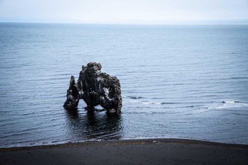 Hvitserkur | Rhino Rock | Iceland Itinerary | Ring Road