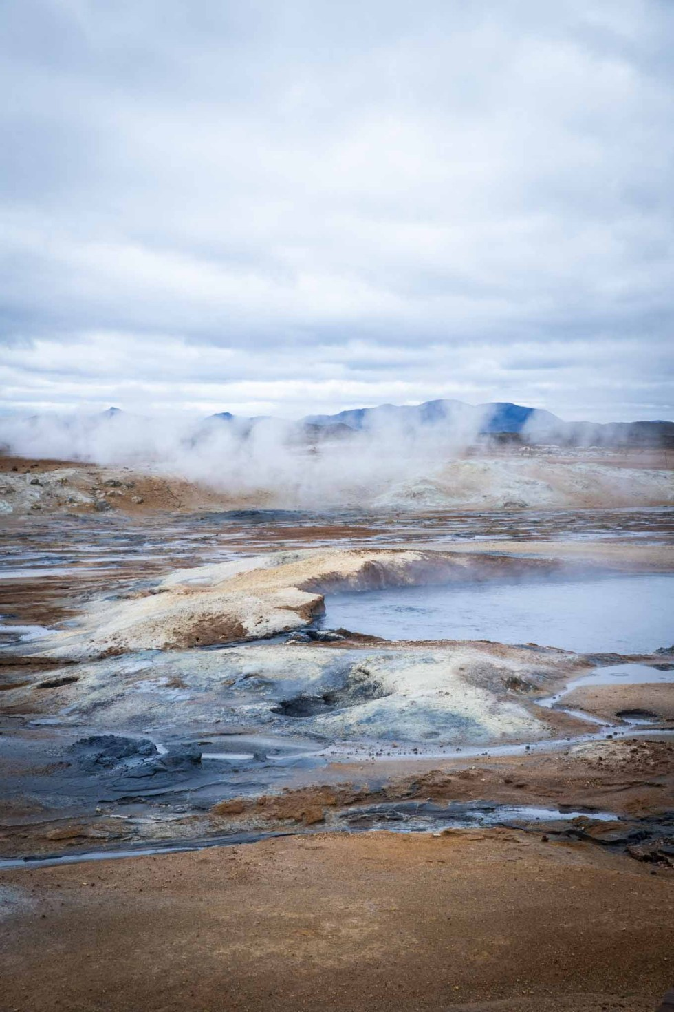 Hverir Mud Pits - Steam Pit | Iceland Itinerary | Ring Road