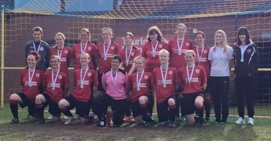 WTFC Ladies cup final 2014-15