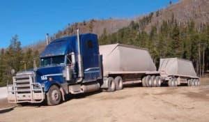 Chief Joe haul truck