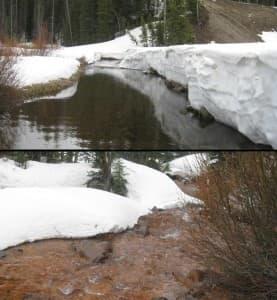 Soda Butte Creek pollution