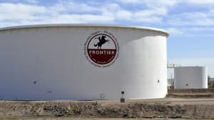 In the past five years, Frontier Refining Inc. has received 15 notices of violation from DEQ, resulting in more than $1.4 million in penalties. One notice of violation was rescinded. (CJ Baker photo — click to enlarge)