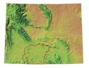 Red Desert Map