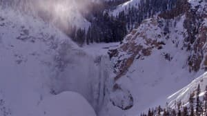 Lower Falls in the Grand Canyon of the Yellowstone River