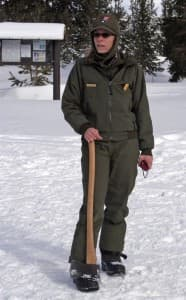 Yellowstone National Park ranger Darlene Bos