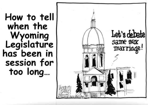 Greg Kearney's take on the gay marriage debate