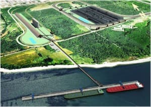The proposed Gateway Pacific Terminal