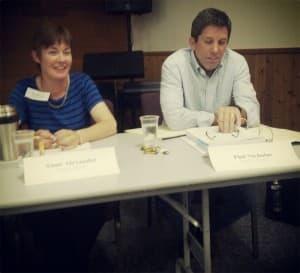 Anne Alexander and Sen. Phil Nicholas