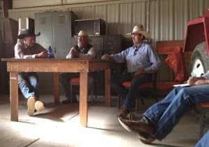 Crowheart water board meeting (WyoFile/Ron Feemster — click to enlarge)