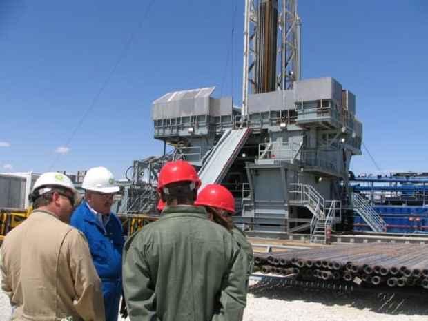Wyoming BP rig site