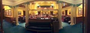 The Wyoming Senate Chambers. (WyoFile/Gregory Nickerson — click to enlarge)