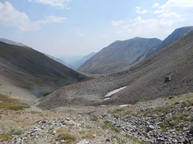 Upper Meadow Creek Basin, Francs Peak area