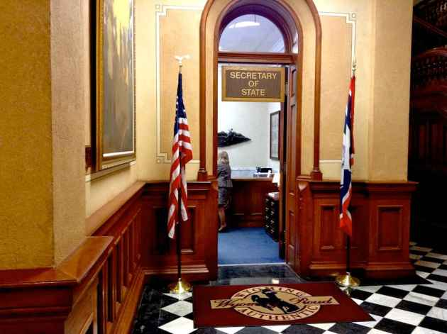 The Wyoming Secretary of State's office. (Gregory Nickerson/WyoFile — click to enlarge)