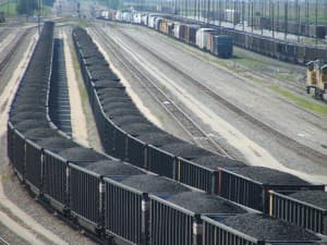 Coal trains (click to enlarge)