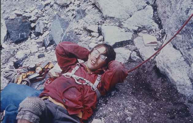 Gaylord Campbell the victim in the 1967 rescue was critical of how rangers got him off the mountain. (click to enlarge)