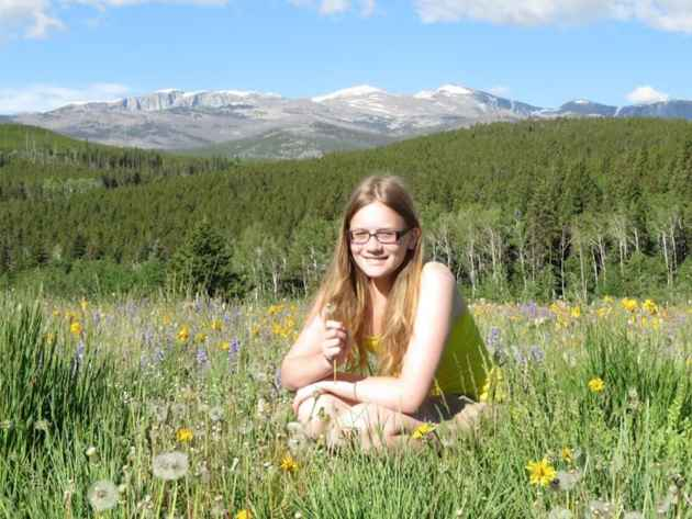 zzy Dickinson is a member of the Young Ambassadors for Wilderness. (Courtesy Wyoming Wilderness Association - click to enlarge)