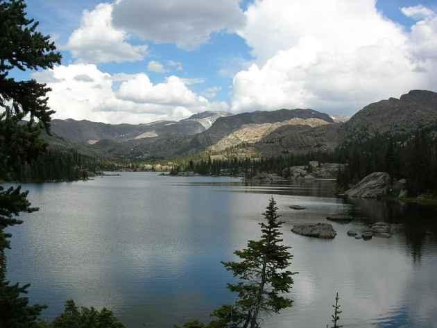 Lake Helen, Cloud Peak Wilderness, WY (Michael Pearlman/ Flickr - click to enlarge)