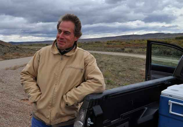 Jonathan Ratner of the Western Watersheds Project is facing a complex lawsuit from ranchers who claim he trespassed to collect water samples. (photo by Jeremy P. Jacobs - click to enlarge)