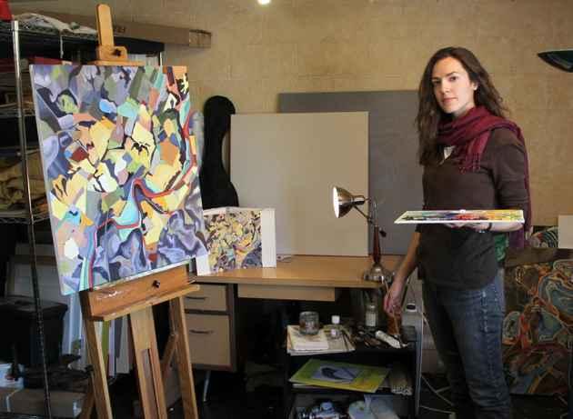 VA in Studio (click to enlarge)