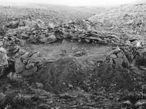 A site first discovered in 1969 in the Shirley Basin and recently re-excavated could change current theories on how people lived in Wyoming thousands of years ago. (courtesy Bryon Schroeder)