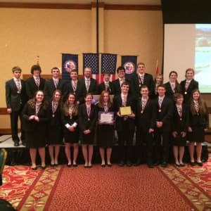 We, the Winners: Sheridan's team triumphs in 2015 'We the People: Citizens and the Constitution' competition. (courtesy)