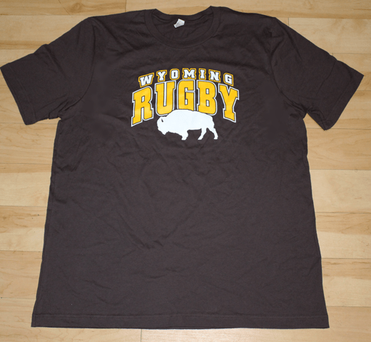 Brown And Gold With White Bison