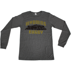 wyoming rugby tee