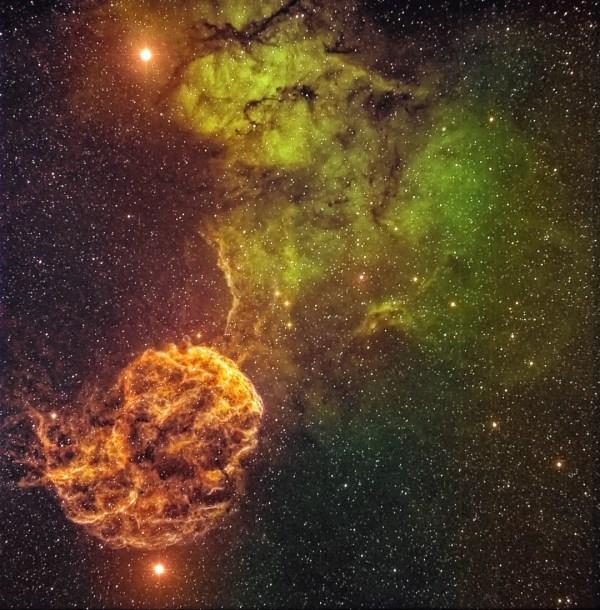 IC 443 - Jellyfish Nebula - Wyoming Stargazing