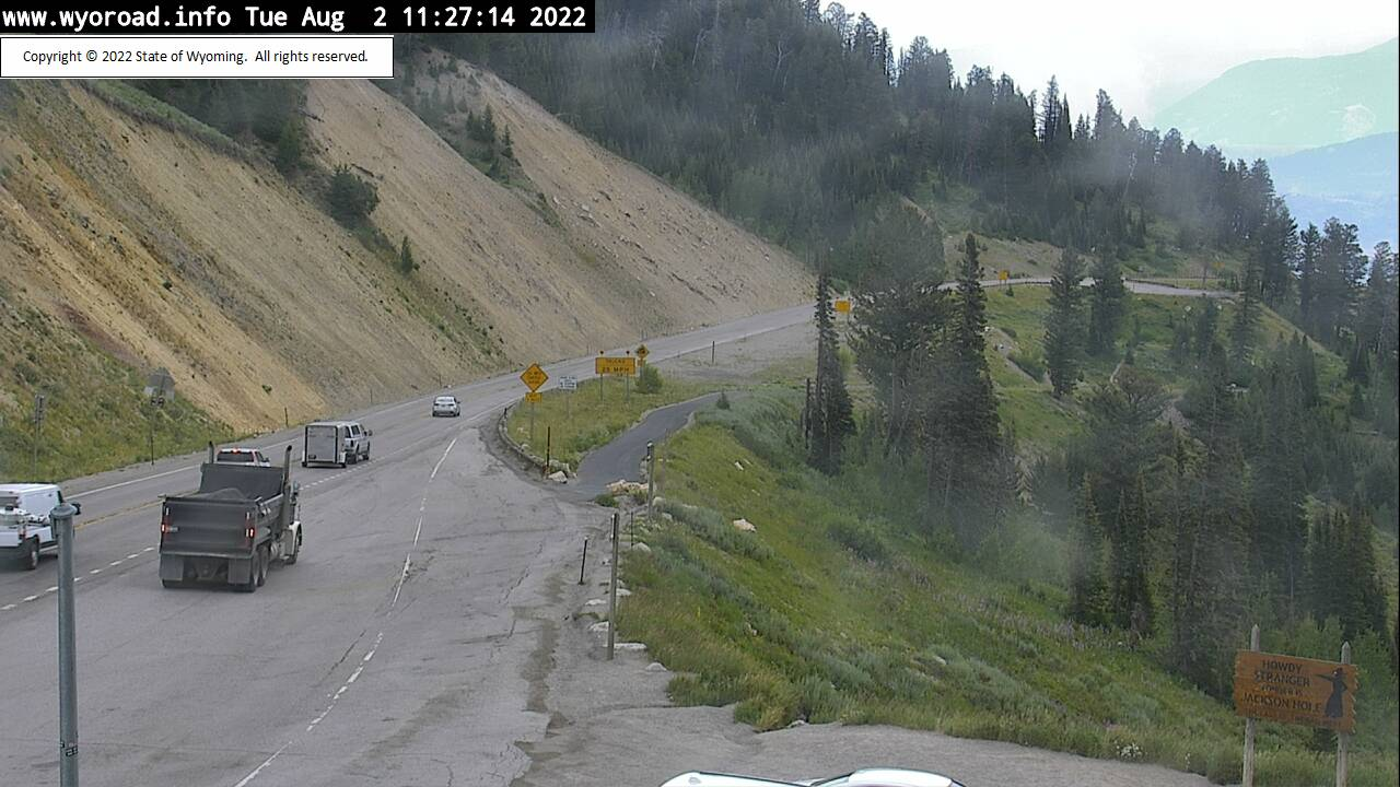 Teton Pass Driving Conditions