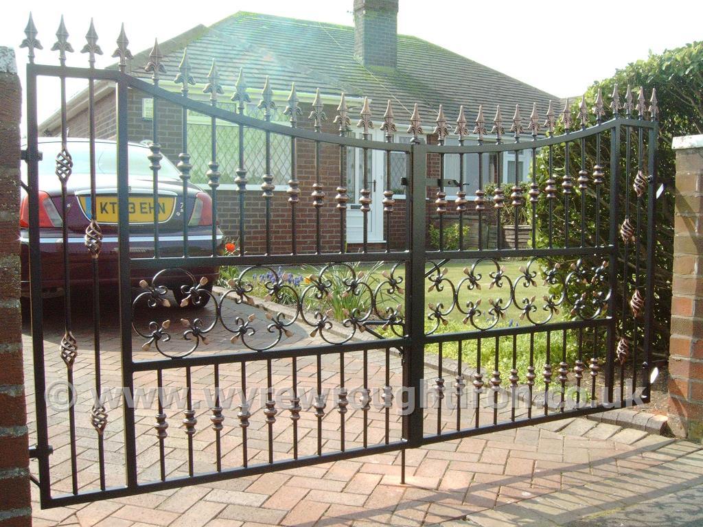 Wyre Wrought Iron Metal Gates Railings Handrails