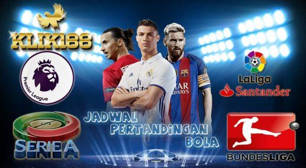 Jadwal Liga-Liga Top Eropa Pekan Ini 25-28 November 2017