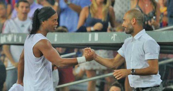 Ronaldinho Yakin Guardiola Bakal Mengulangi Kesuksesannya