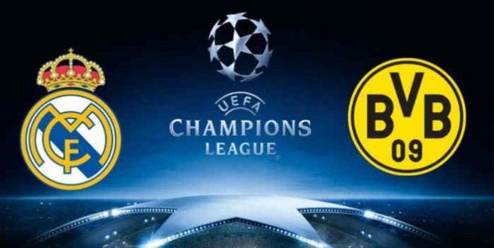 Prediksi Real Madrid vs Borussia Dortmund 07 Desember 2017