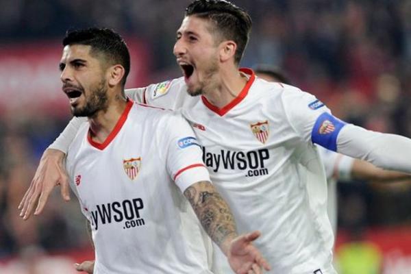 Laporan Pertandingan Sepakbola Sevilla VS Atletico Madrid