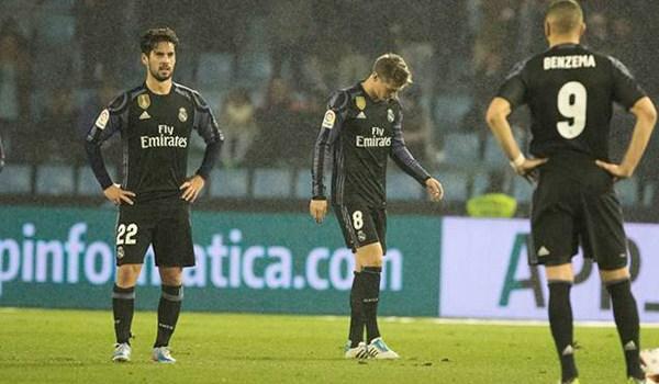 Real Madrid Kembali Gagal Meraih Poin Penuh La Liga