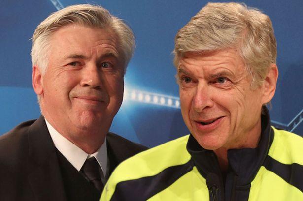 Arsenal Bantah Rumor Akan Gantikan Wenger Dengan Ancelotti