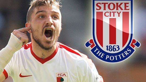 Stoke City Sukses Datangkan Bek Timnas Yunani Dari Augsburg