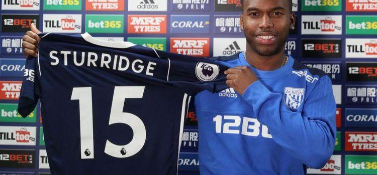 Sturridge Resmi Bergabung Bersama West Bromwich Albion