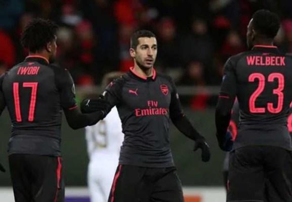 Henrikh Mkhitaryan Yakin Arsenal Finish 4 Besar Liga Inggris