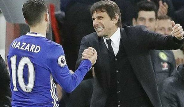 Antonio Conte Tak Mau Tanggapi Kritikan Eden Hazard
