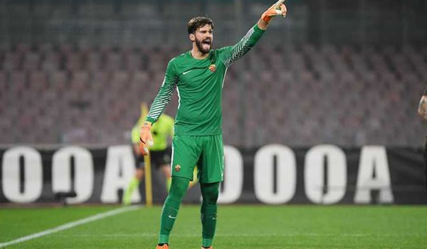 Alisson Becker Nganggur Di Laga AS Roma Lawan Shakhtar Donetsk