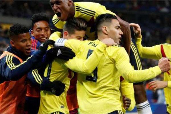 Laporan Pertandingan Sepakbola Timnas Prancis VS Timnas Kolombia