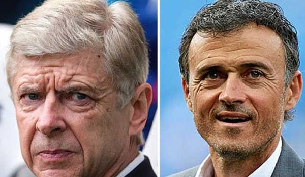 Arsenal Minta Luis Enrique Gantikan Arsene Wenger