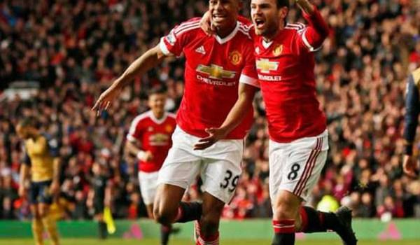 Begini Susunan Pemain Manchester United Lawan Arsenal