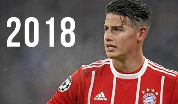 James Rodriguez Segera Permanen Kenakan Jersey Bayern Munchen