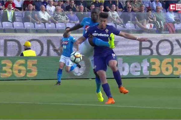 Laporan Pertandingan Sepakbola LIga Italia Fiorentina VS Napoli