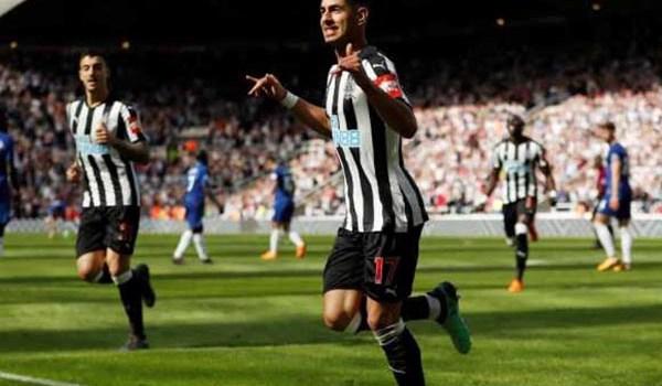 Laporan Pertandingan Sepakbola Liga Inggris Newcastle VS Chelsea