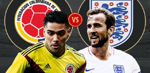Prediksi Skor Kolombia VS Inggris Piala Dunia 04 Juli 2018