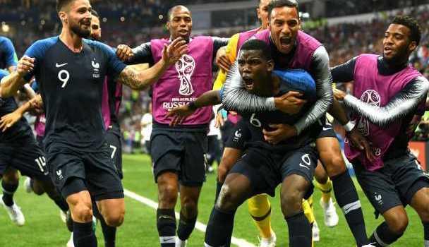 Rekor yang Dipecahkan Prancis Usai Menang Piala Dunia 2018